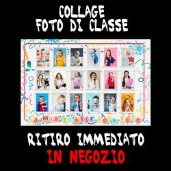 Collage foto di classe