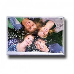 Cornice in plexiglass Shake Frame  neve